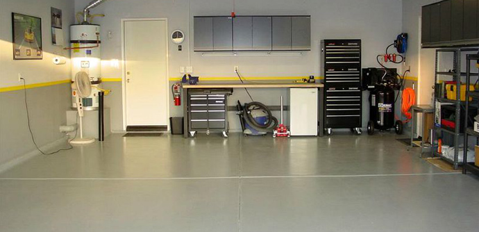 Look for value in low cost garage flooring options for Garage low cost