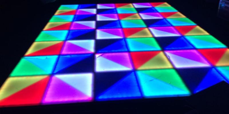 Rent your portable dance floor hongewin tiles for Temporary flooring for renters